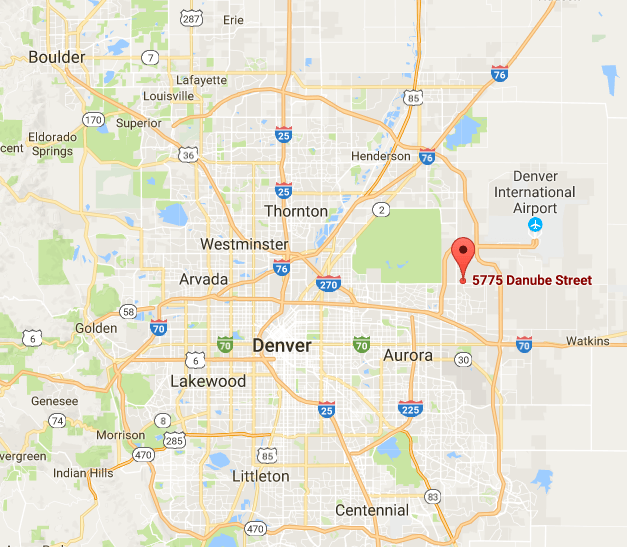 Address for Denver Investment Property