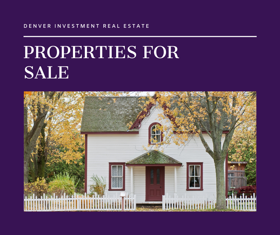 Real Estate Investment Denver & Properties for Sale