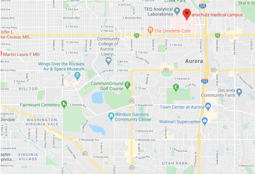 denver real estate map