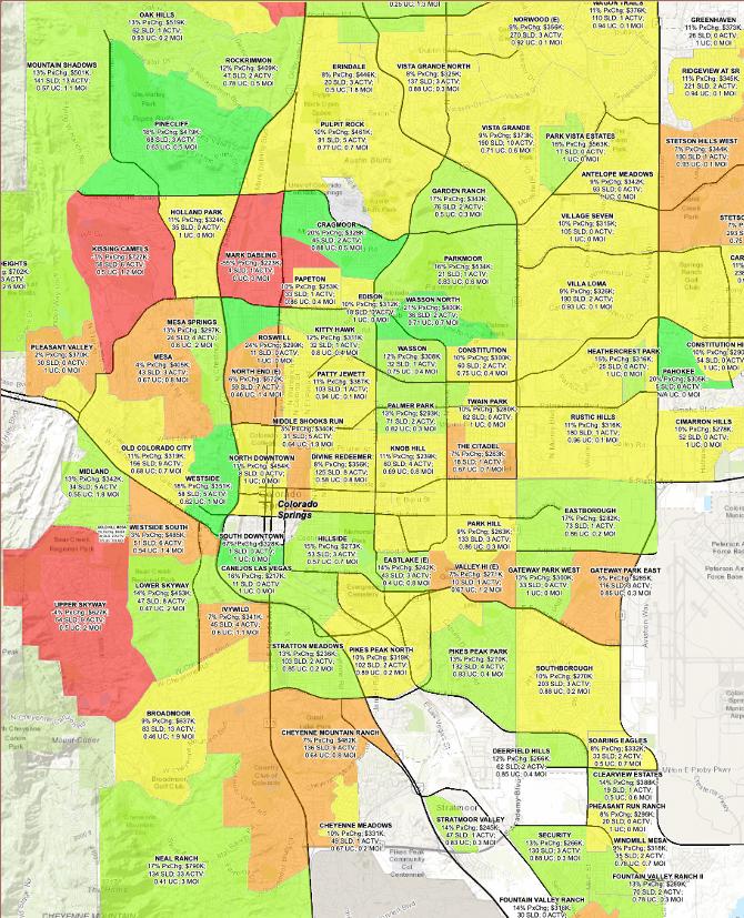 price change map colorado springs