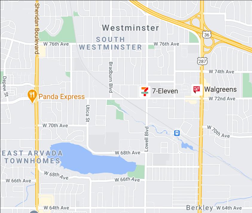 Denver real estate map