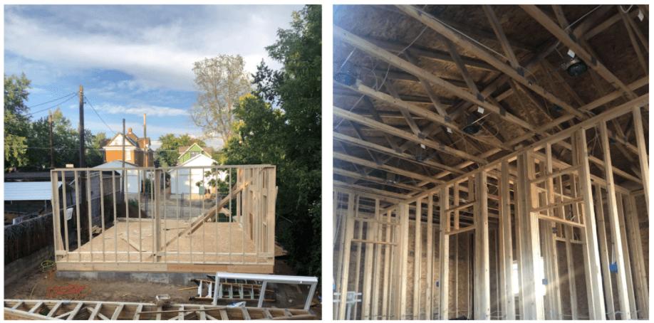 Denver single family build near Sloans Lake