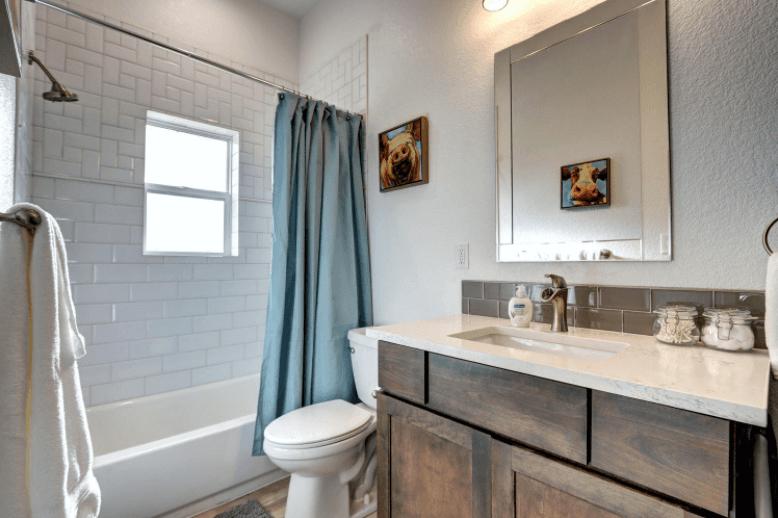 Denver after renovation bathroom