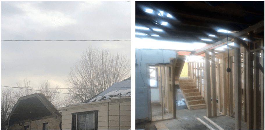 Denver home renovation basement build
