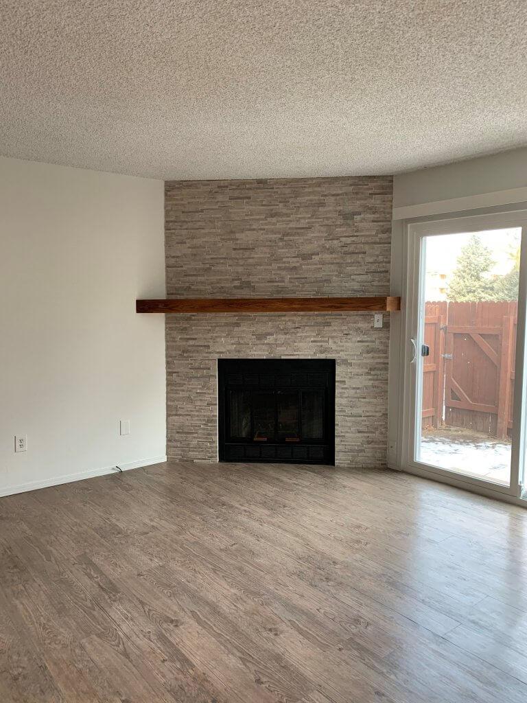 condo rental living room Colorado Springs