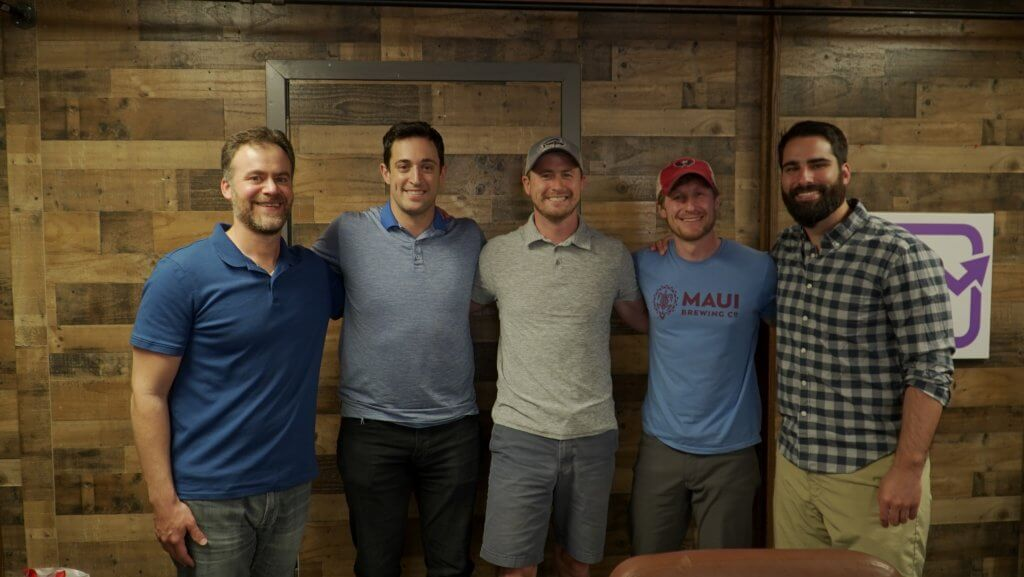 Denver house hackers Chris Lopez, Jeff White, Ryan Lind, Ben Einspahr, David Williams