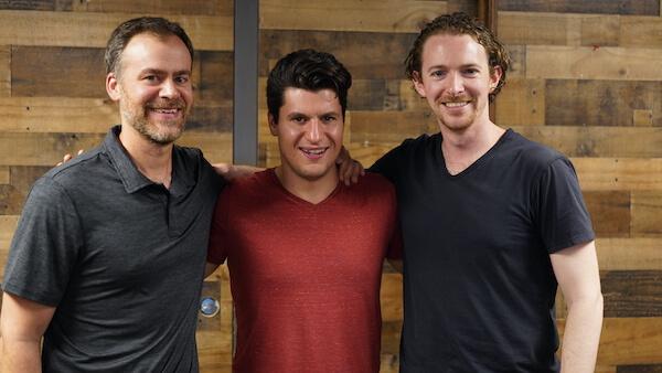 Chris Lopez, Shalom Kaiser and Jonathan Scheiner