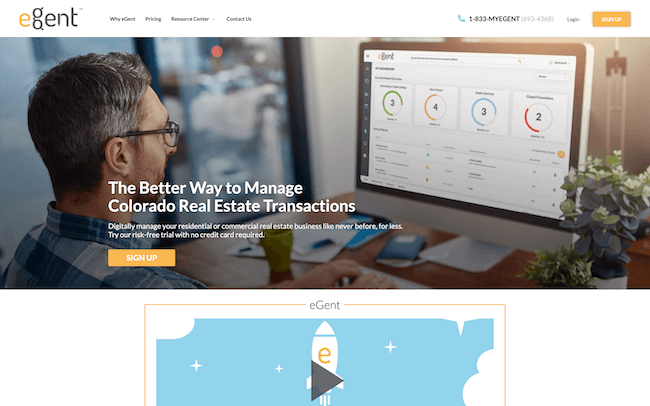 eGent real estate software