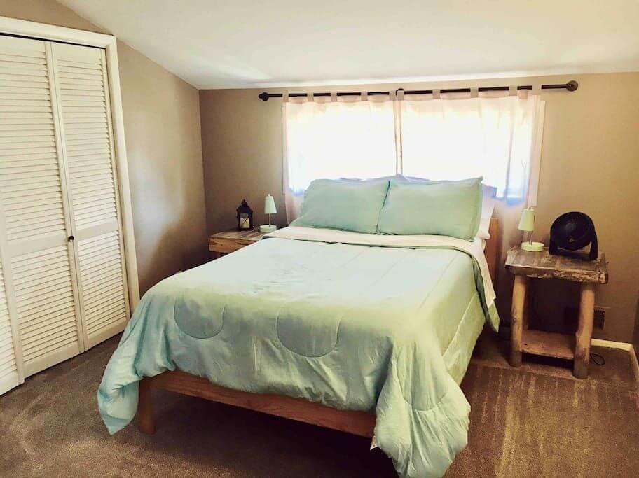 house hack bedroom