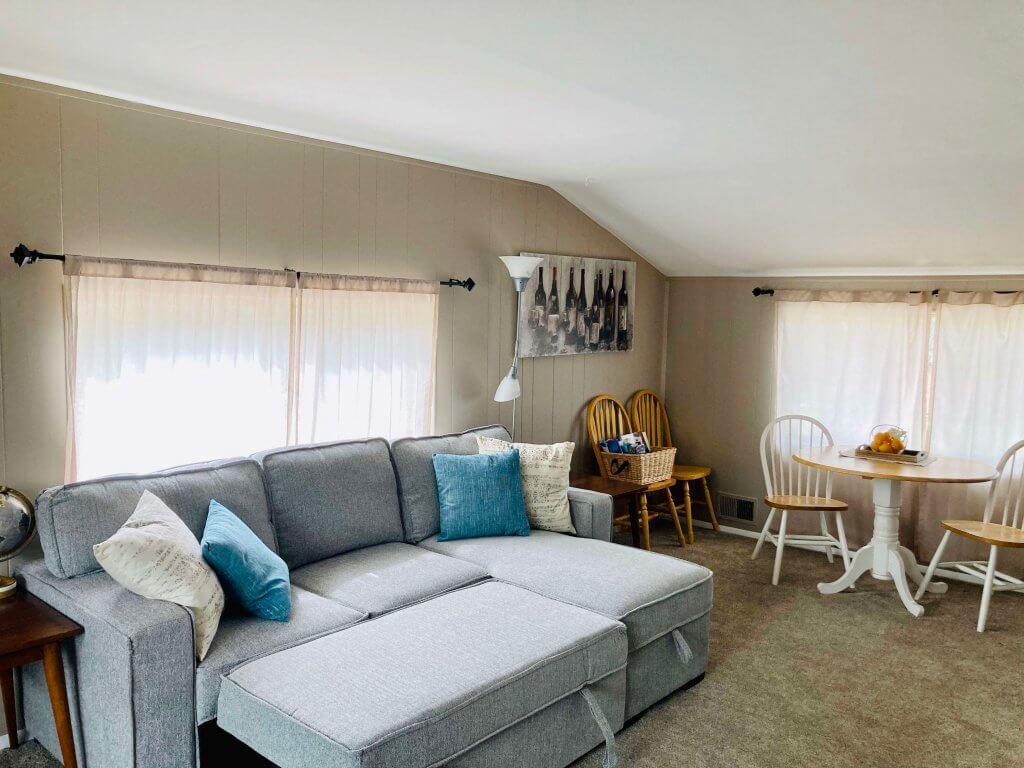 Arvada house hack living room