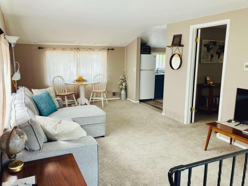 house hack living room