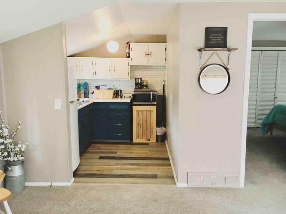 house hack kitchen after renovation