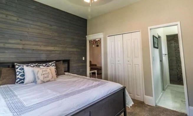 1895 duplex rental in Colorado Springs bedroom