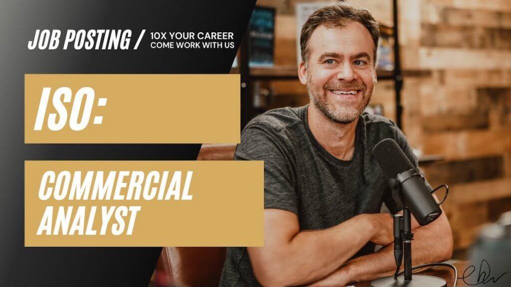 Commercial Analyst Job Position - Denver Colorado